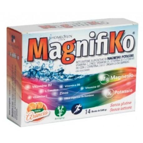 Magnifiko integratore Magnesio e Potassio contro la stanchezza